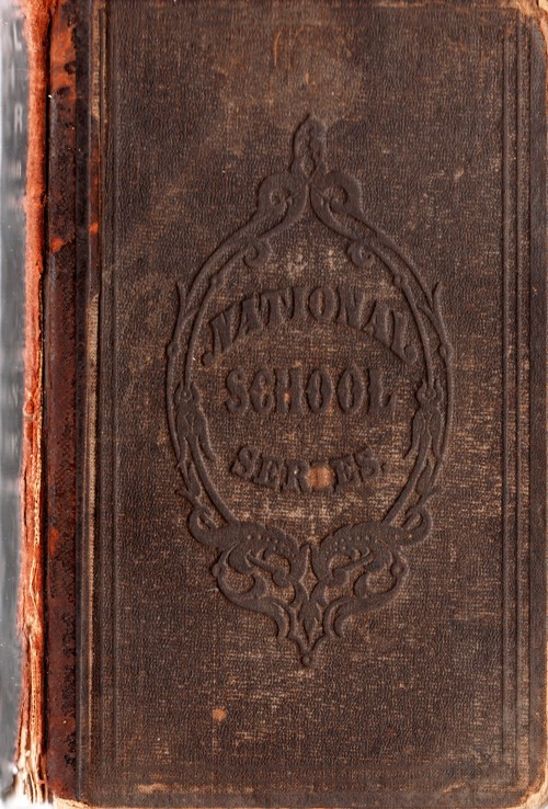 old school books, High School Books, 5th Reader, 1863, Parker and Watson