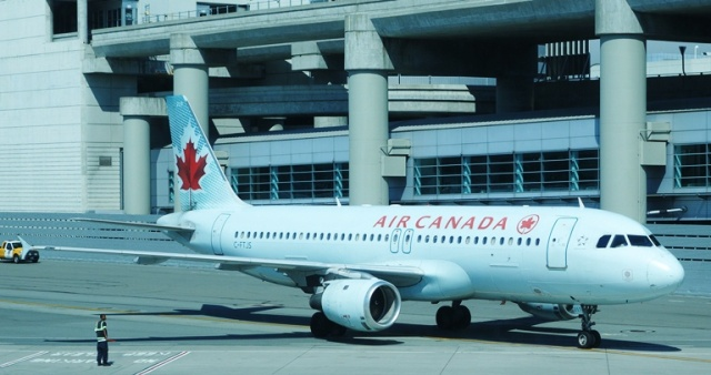 Air Canada, Flight to Toronto, SFO Airport, National Aviation Day