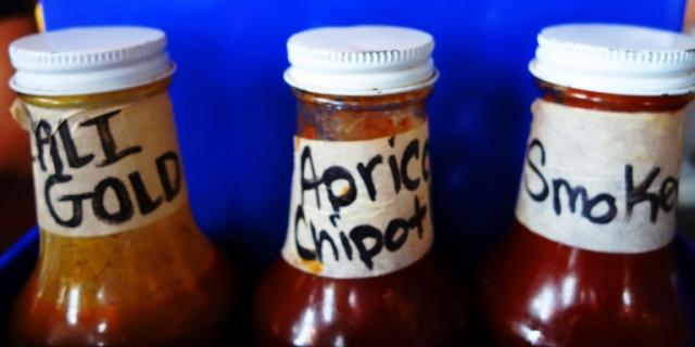 BBQ Sauce, California Gold, Apricot Chipolte, Smoky BBQ sauce, Apricot Wood BBQ