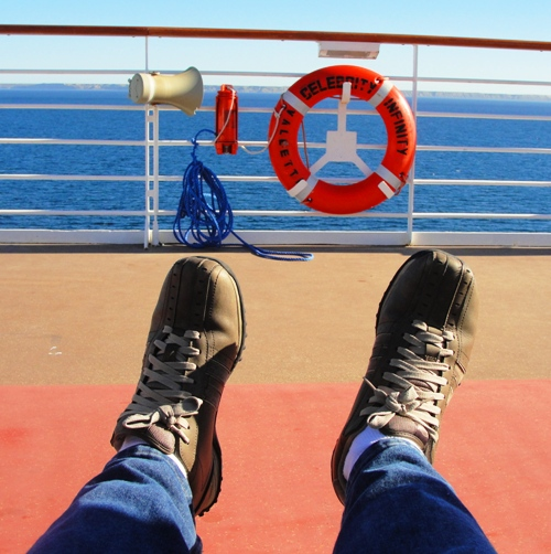 Feet, Shoes, Cruise, Celebrity Cruise, Infinity Cruise Boat
