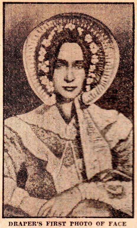 First Photo of Face, John William Draper, Dauguerre, Dauguerrotype