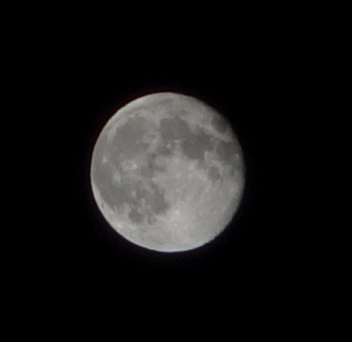 Just Past Full Moon, Full Moon, Moon, Picture of Moon, Supermoon