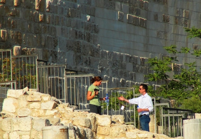 Temple Stairs, Jerusalem, Trent and Rebekah Dutton, Memories