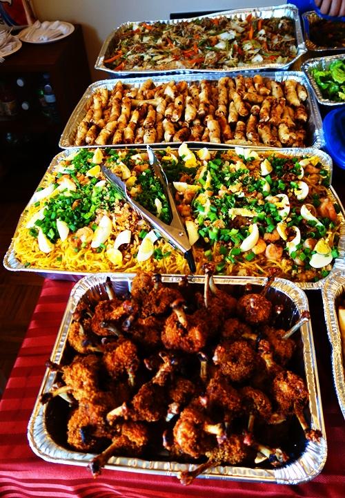 Birthday Feast, Filipino Food, Canadian Food, culture