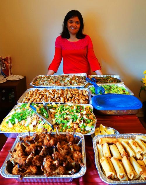 Filipino Food, Birthday Feast, Birthday Party