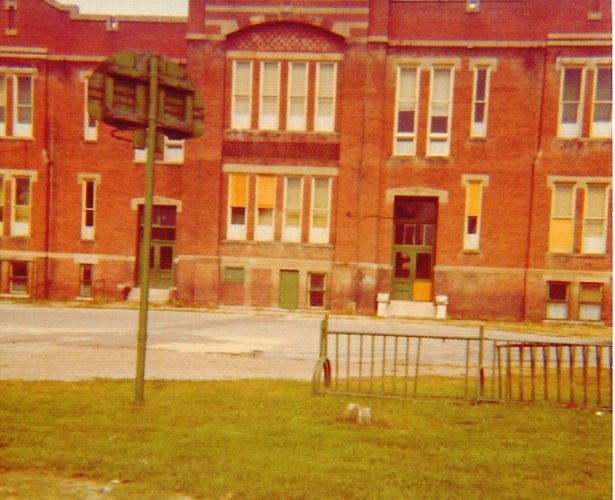 Irving Grade School, Ottumwa Iowa, Five Corners, McDonalds, Old Brick School