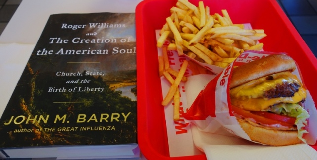 In-N-Out, Roger Williams and the Creation of the American Soul, Church and State, John M. Barry