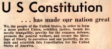 Constitution Day, September 17 1787, We The People, Goverment's Birthday