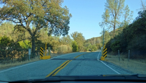 Cattle Guard, Cattle Country, Ranch, Del Puerto Canyon, Twisty Road