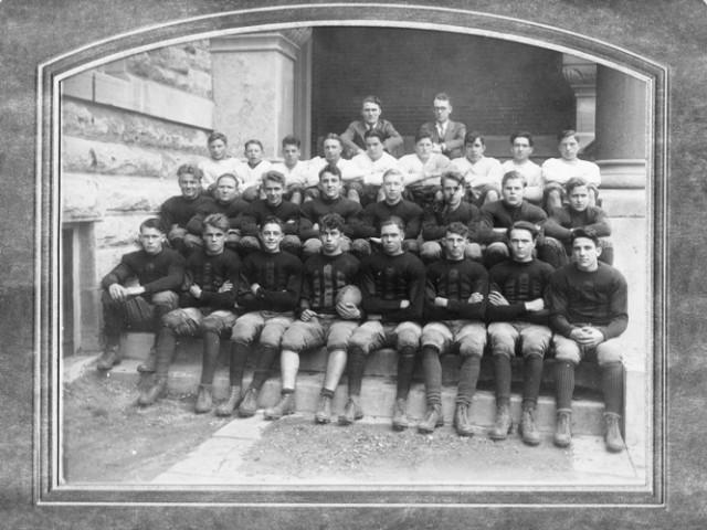 Football Team, Sabetha Kansas, 1927 1928 football team, Old football uniforms, Grandpa's Football Team