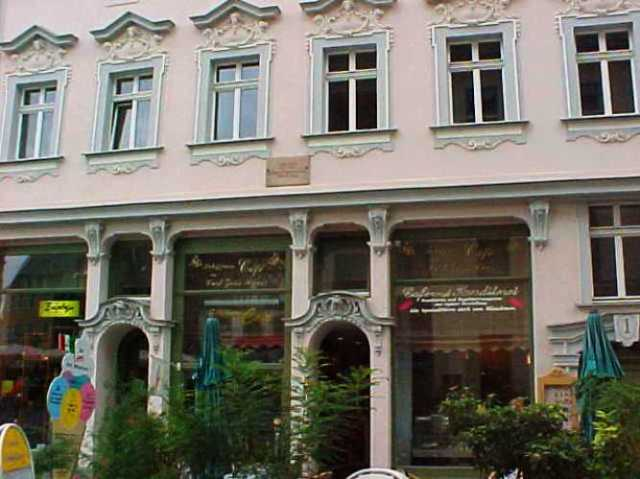 Weimar Germany, Carl Zeiss Home, Ice Cream Shop