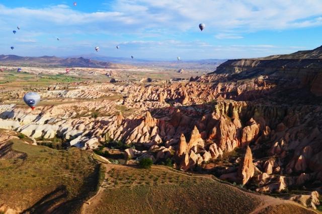 Cappadocia, Balloon Flights, Ariel Views of Cappadocia, Rock Formations