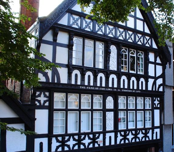 Half Timbered House, Chester, England, Residence