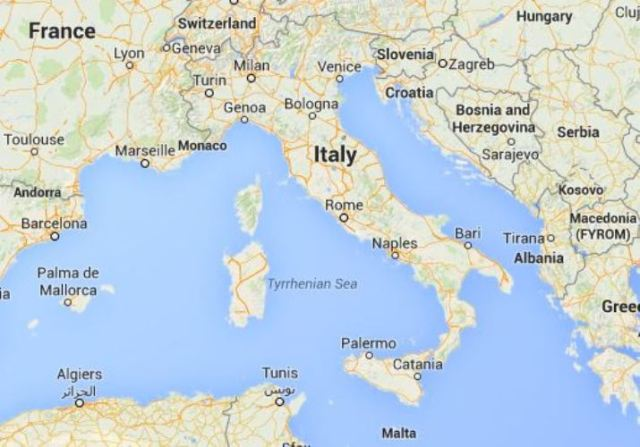 Google Maps, Genoa, Italy, France, Columbus