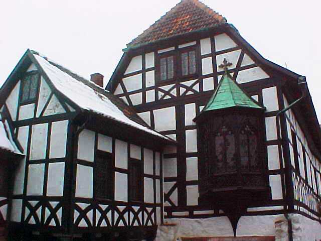 Half-Timber Building, Wartburg, Eisenach, Germany, Martin Luther, Reformation Day