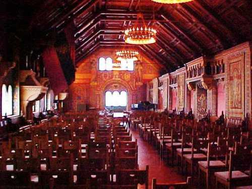 Wartburg Palas, Concert Hall, Reformation, Eisenach, Germany