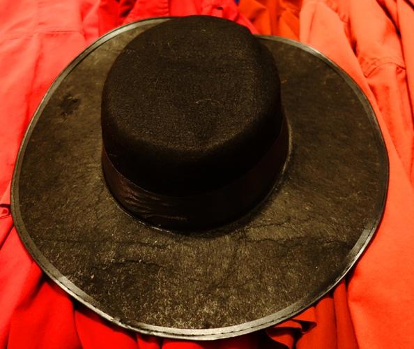 Flat Rim Hat, Black Hat, Mark Hall-Patton, Pawn Stars, Halloween Costume