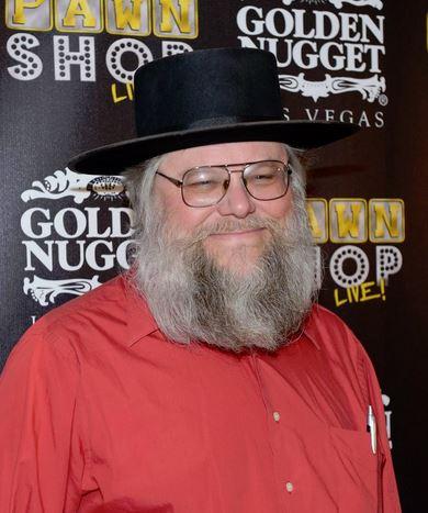 Mark Hall-Patton, Pawn Stars, Halloween Costume, Red Shirt, Black Hat, Clark County Museum