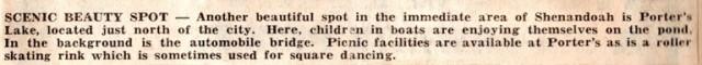 Porter's Lake, Shenandoah, Iowa, Nishna Valley Playground, YMCA