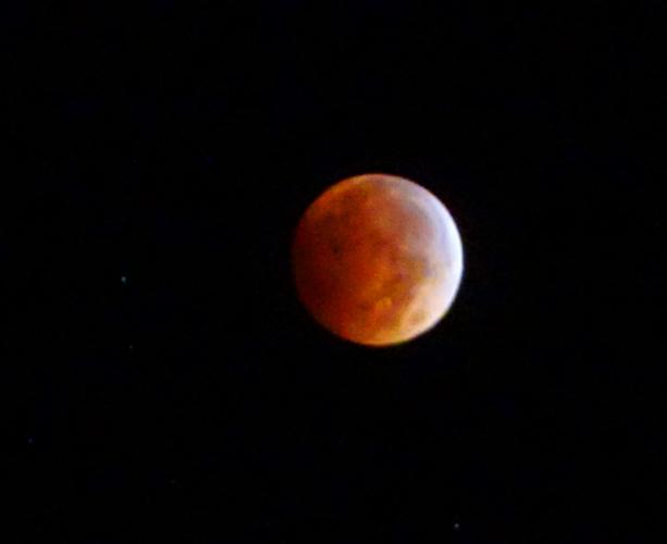 Blood Red Moon, Eclipse, tripod, Sony, Zeiss