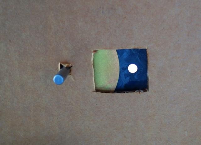 Eclipse Viewing, Sun Projection, Aperture Size, Pinhole