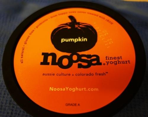 Pumpking Yoghurt, Yogurt, Noosa Yoghurt, Thanksgiving Yoghurt
