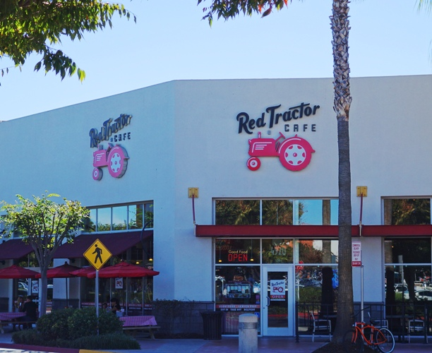 Red Tractor Cafe, Dublin, California, Open Faced Turkey Sandwich, Comfort Food