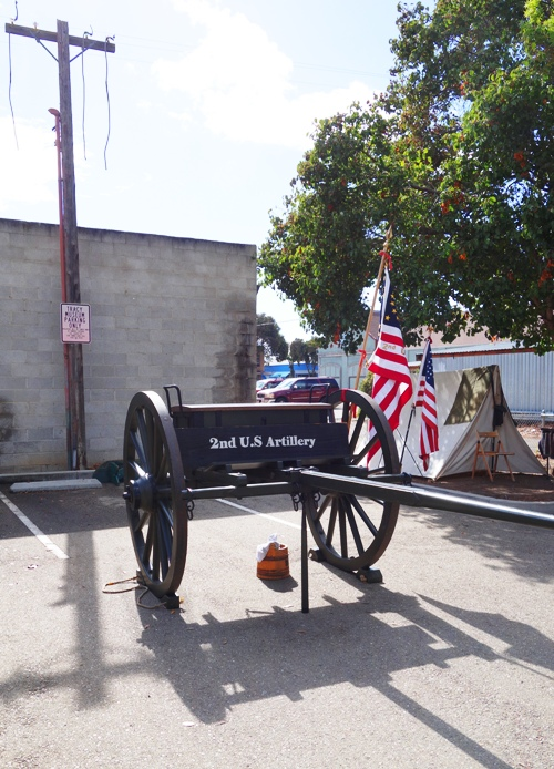 Ammunition Cart, Civil War, Re-enactors, Tracy Historical Museum