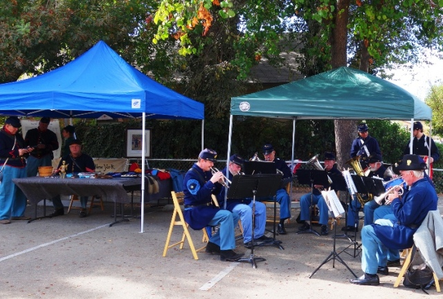 Tracy Historical Museum, Civil War Band, Civil War Re-enactors, History