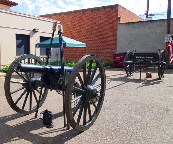 Civil War Cannon, Civil War Re-enactment, Cannon