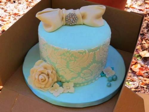 Wedding in the Wilderness, Wedding Cake, Small Wedding Cake, Richland Creek Wilderness