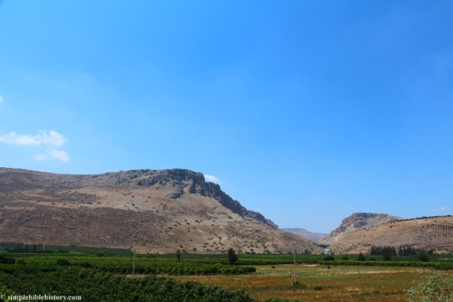 Sea of Galilee, Mount Arbel, Arbel Pass, Landscapes, Simple Bible History