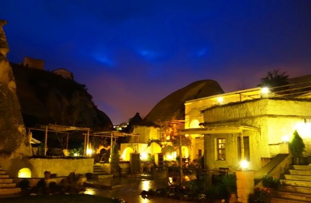 Queens Cave Hotel, Cappadocia, Ortahisar, Cave Hotel, Night Shot