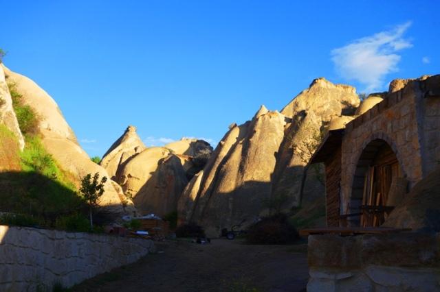 Cappadocian Rock Formations, Queens Cave Hotel, Cappadocian Sunrise