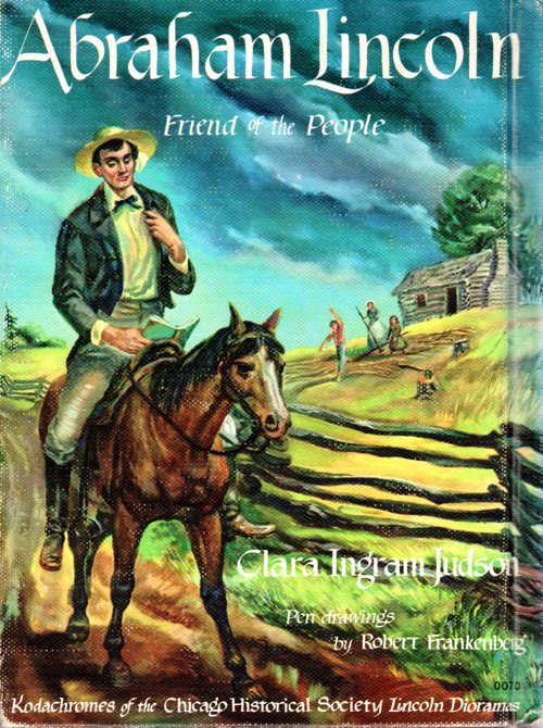 Clara Ingram Judson, Abraham Lincoln, Newbery Honor Book, Friend of the People