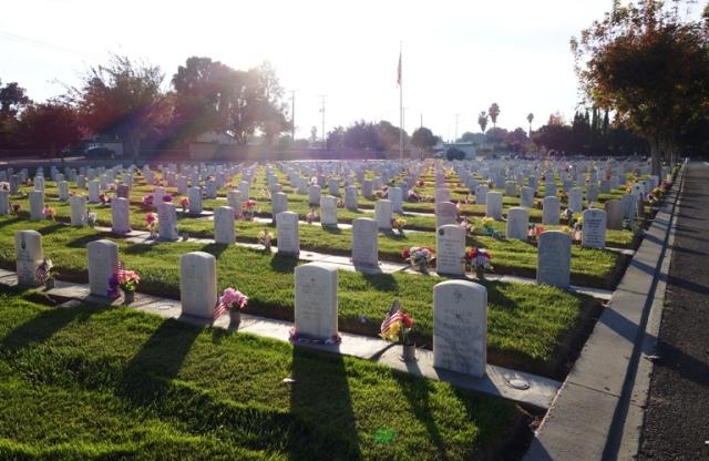 Little Arlington, Veterans, Tracy California