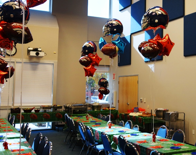 Retirement Party, Denver Broncos, Buffet Lunch, Celebration