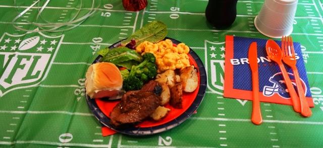 Buffet Lunch, Retirement Lunch, Celebration, Broncos