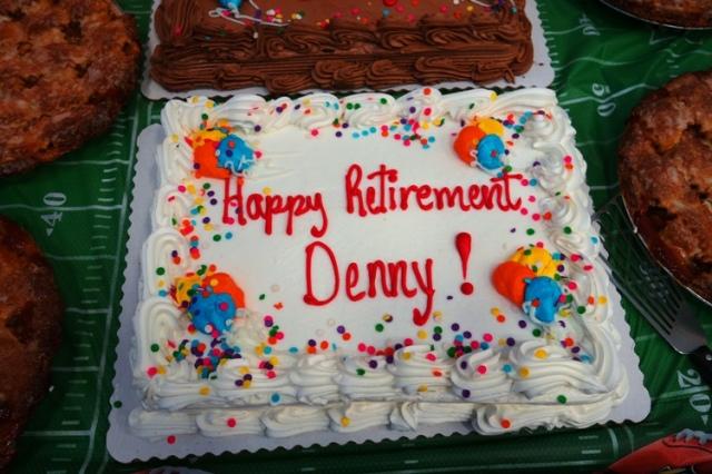 Retirement Cake, Retirement Party, Apple Pies