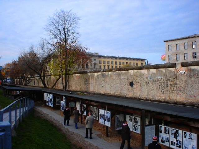 Topography of Terror, Berlin Wall, Berlin Wall Remains, Museum, Berlin, Germany