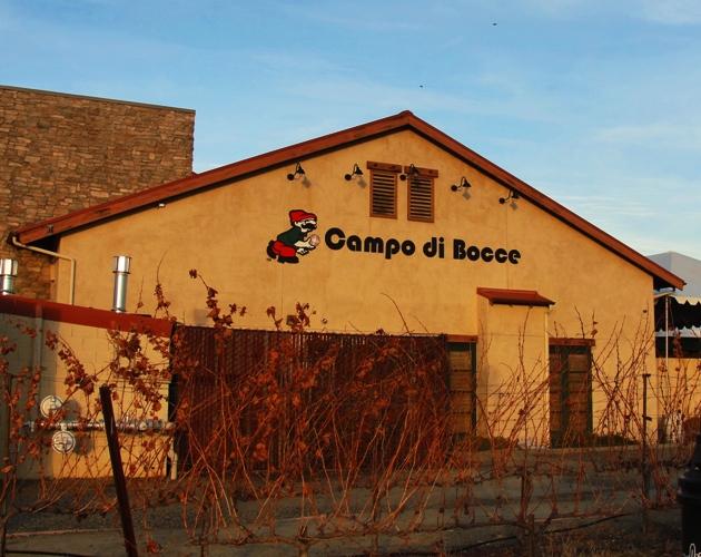Campo di Bocce, Livermore, California, December Color
