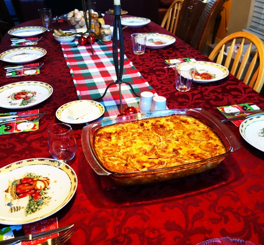 Scalloped Potatoes, Christmas Feast, Hearty Meal