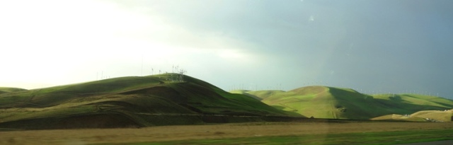 Altamont, Colorful Hills, Green Hills, Winter Color