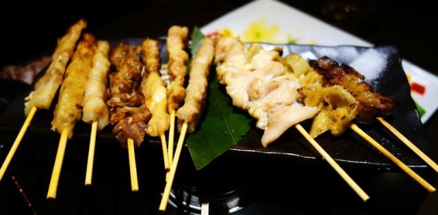 Skewers, Skewered Meat, Assorted Meats, Japanese Cuisine
