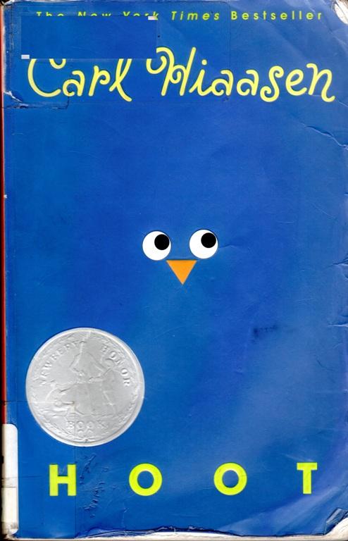 Hoot, Carl Hiaasen, Newbery Honor Book, Children's Literature, Owls, Burrowing Owl