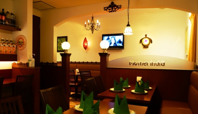 Mother India Restaurant, Indian Food in Japan, Tokyo Indian Restaurant, Nepalese