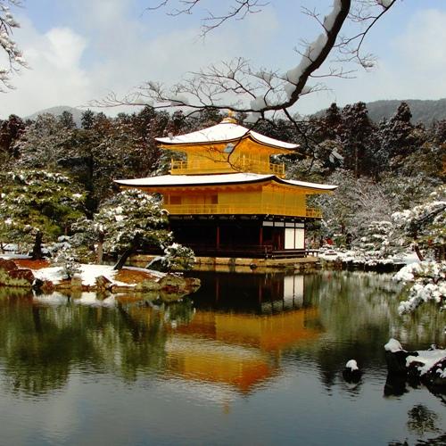 Kinkaku-ji, Temple of the Golden Pavilion, Kyoto, World Heritage Site
