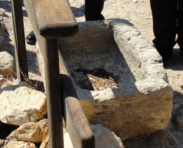 Manger, Stone Manger, Megiddo