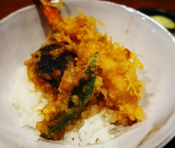 Tempura Shrimp, Tempura Eggplant, Tempura, Rice