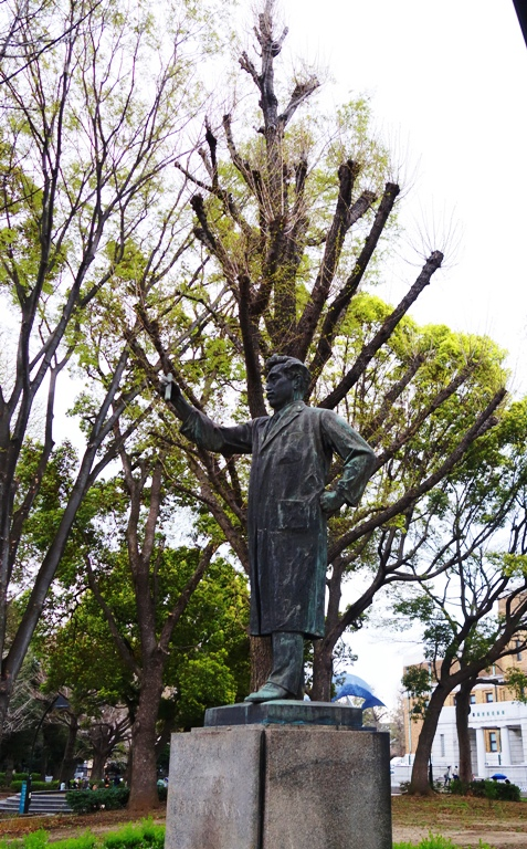 Hideyo Noguchi, Statue, Ueno, Bacteriologist